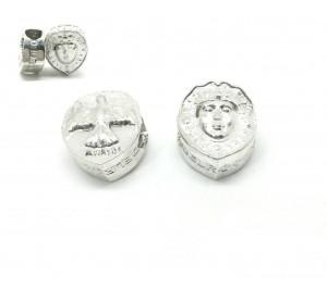 Abalorio pulsera plata  Rostrillo Virgen del Rocío