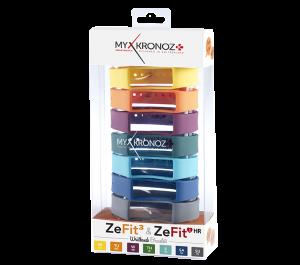Brazaletes intercambiables para Mykronoz ZeFit3 (Pack de 7)