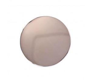 Centro acero chapado rosa Infinity 33mm.
