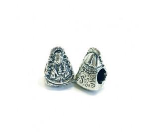 Abalorio pulsera plata Virgen del Rocío