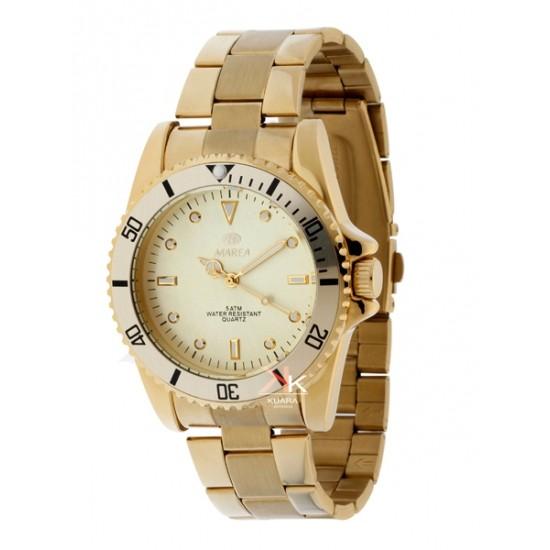 Reloj Marea Unisex Dorado Moda Precio Especial Joyer 237 A