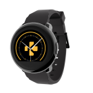 Reloj Mykronoz ZeRound Smartwatch (NEGRO)