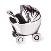 Abalorio pulsera SMW plata Carrito de bebé