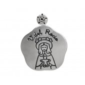 Medalla Virgen del Rocío plata Marduk