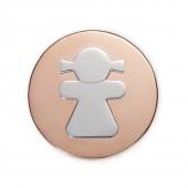 Medallón Viceroy Plaisir niña. Ref. VMC0029-19