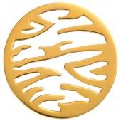 Medallón Viceroy Plaisir Medallón acero chapado dorado