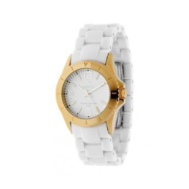 Reloj marea mujer policarbonato blanco dorado precio - Policarbonato blanco precio ...