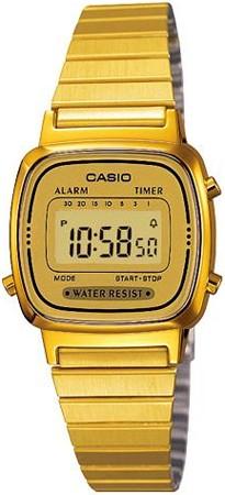 Reloj casio dorado mujer cuanto cuesta